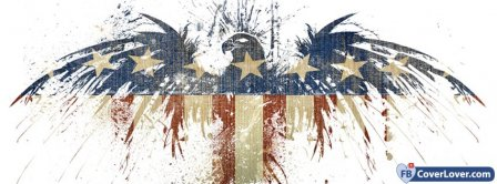 American Eagle Flag Facebook Covers