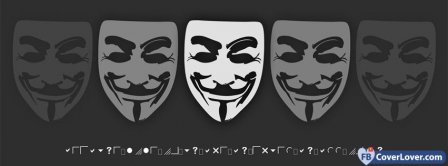 Anonymous 3 Facebook Covers
