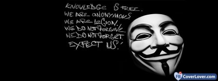 Anonymous  Facebook Covers