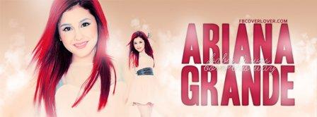 Ariana Grande 2 Facebook Covers