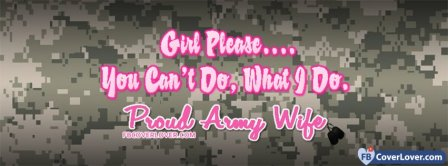 Army Wife 1 Facebook Covers