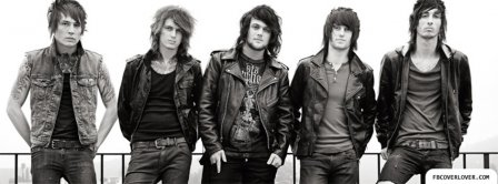 Asking Alexandria 5 Facebook Covers