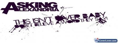 Asking Alexandria Lyrics 2  Facebook Covers