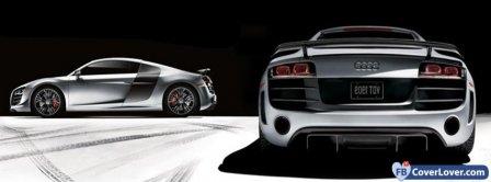Audi R8 3  Facebook Covers