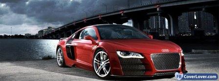 Audi TT Red Facebook Covers