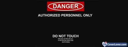 Authorized Personnel Only Facebook Covers