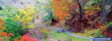 Autumn Color Path  Facebook Covers