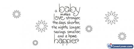Pregnancy Quote Facebook Covers