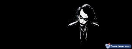 The Joker In The Dark Facebook Covers