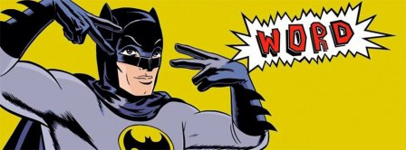Batman Word Facebook Covers