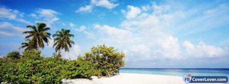 Beach Scene Facebook Covers
