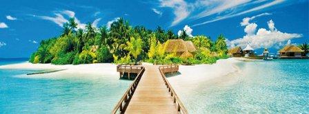 Beautiful Island Facebook Covers