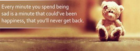 Being Sad Quote Facebook Covers