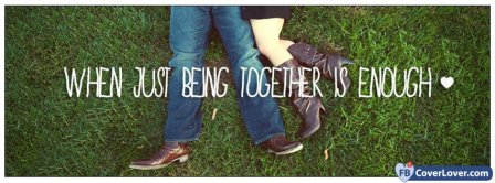 Being Together Facebook Covers