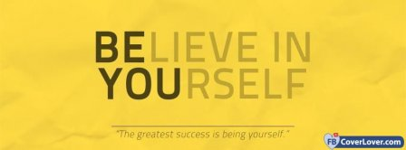 Believe In Yourself 2 Facebook Covers