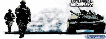 Battlefield Bad Company 2 Facebook Covers