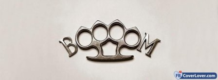 Knuckle Duster Boom Facebook Covers