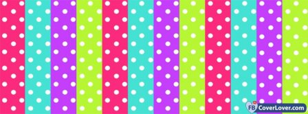 Bubbly Colorful Pattern Facebook Covers