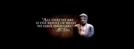 Buddha Quote Facebook Covers