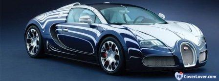 Bugatti Veyron Sport Car  Facebook Covers