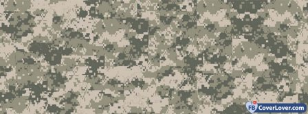 Camo Background Facebook Covers