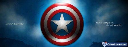 Captain America Shield 2 Facebook Covers