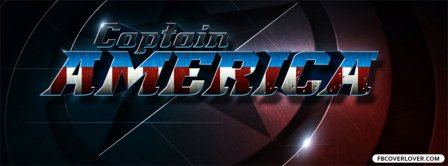 Captain America Logo Facebook Covers