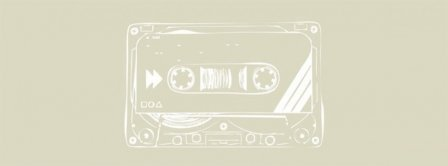 Cassette Tape Music Retro Facebook Covers