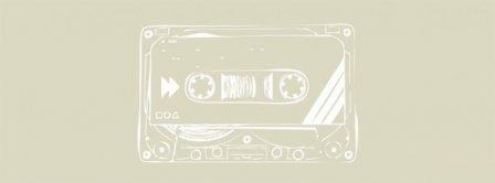 Cassette Tape Music Retro Facebook Covers