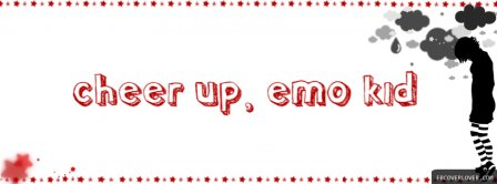 Cheer Up Emo Kid Facebook Covers