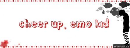 Cheer Up Emo Kid Facebook Covers