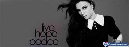 Cher Lloyd Live Hope Peace Facebook Covers