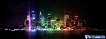 Colorful City  Facebook Covers