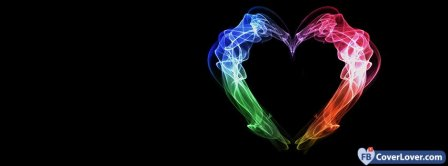 Colorful Heart  Facebook Covers
