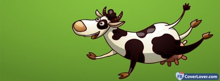 Cow Funny Cartoon Facebook Covers