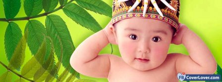 Cute Baby 2  Facebook Covers