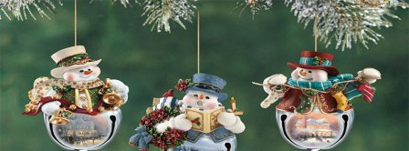 Cute Christmas Ornaments Facebook Covers