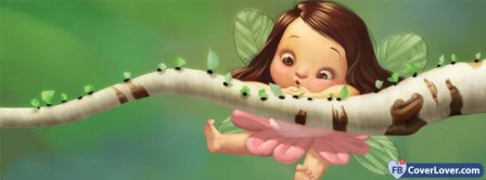 Cute Fairy  Facebook Covers