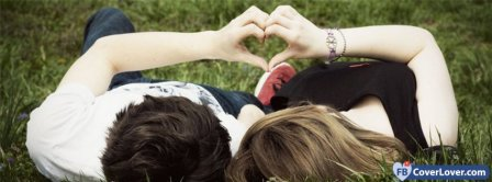 Cute Couple In Love Facebook Covers