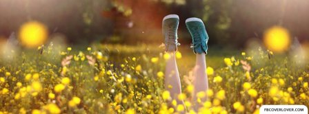 Cute Green Shoes  Facebook Covers