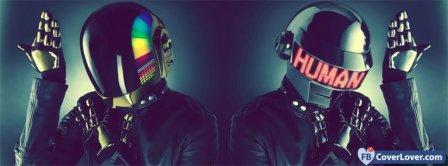 Daft Punk Human Facebook Covers