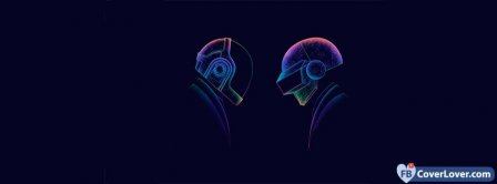 Daft Punk 7 Facebook Covers