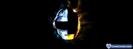 Daft Punk Helmet Facebook Covers