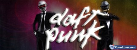Daft Punk In Suits Facebook Covers