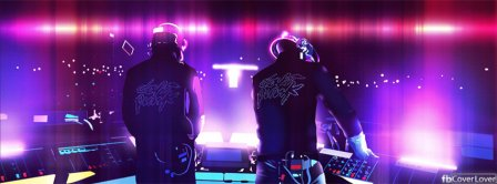 Daft Punk In Concert Facebook Covers