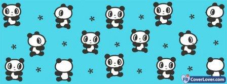 Dancing Panda Background Facebook Covers