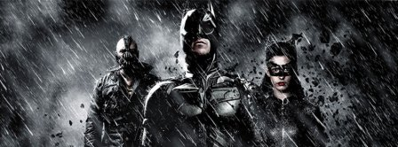 The Dark Knight Rises  Facebook Covers