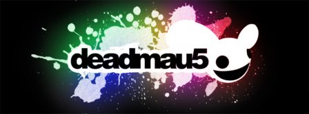 Colorful Deadmau5  Facebook Covers