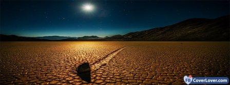 Desert Night Facebook Covers