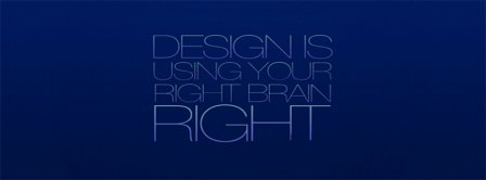 Design Right Brain Facebook Covers